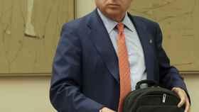 El presidente de RTVE, José Antonio Sánchez, en una comparecencia reciente.