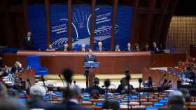 Asamblea parlamentaria del Consejo de Europa en Estrasburgo.