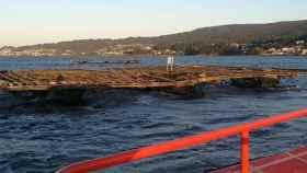 Dos muertos y un desaparecido tras hundirse un pesquero en la ría de Pontevedra