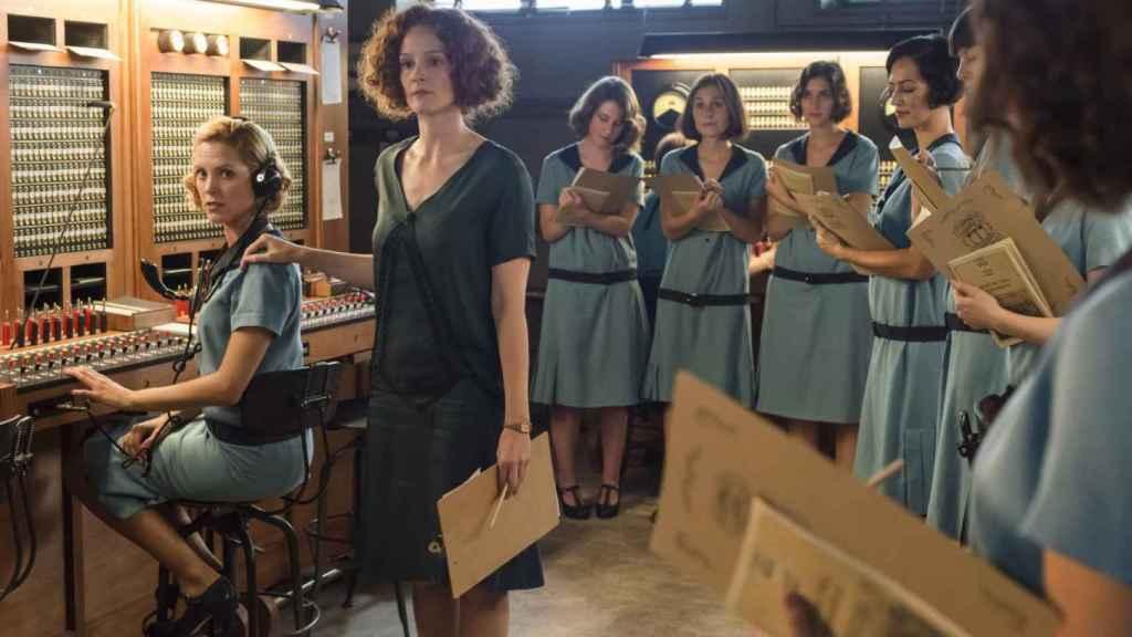 Fotograma de Las chicas del cable.