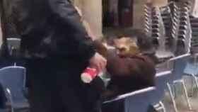 Agresión en Bilbao.