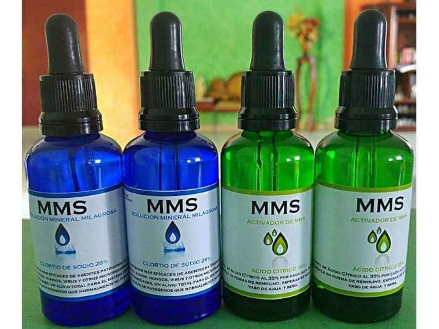 La distribución del MMS como medicamento está prohibida en España.