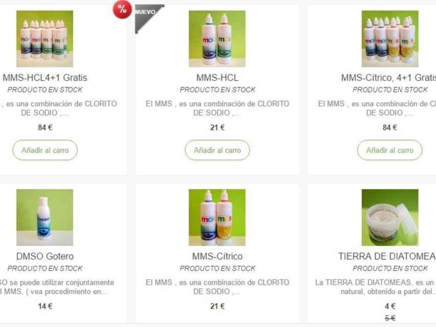 En internet, el MMS se puede encontrar en packs cuyo precio va desde los 20 a los 80 euros.