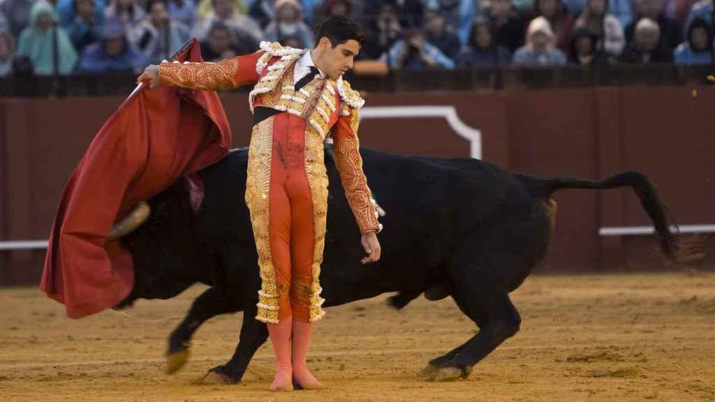 López Simón con su segundo.