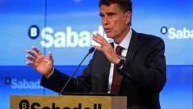 Jaime Guardiola, consejero delegado del Banco Sabadell.