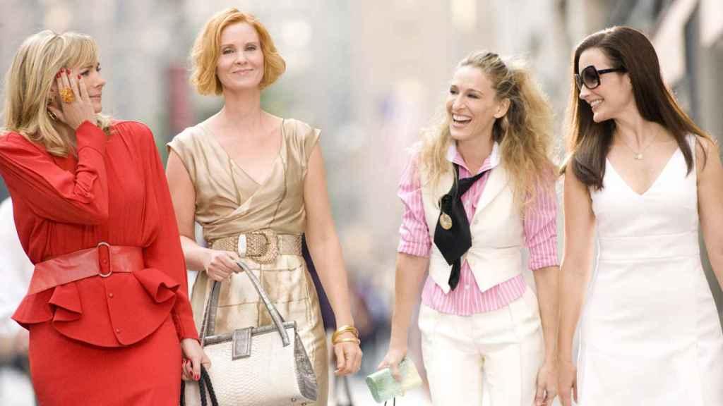 Imagen de la serie de Sexo en Nueva York, (1998).