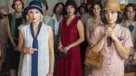 "Imagen de las protagonistas de ""Las Chicas del Cable"". | Foto: Manuel Fernández-Valdés, Netflix."