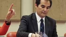 El secretario de Estado de Seguridad, José Antonio Nieto, momentos antes de su comparecencia este viernes.