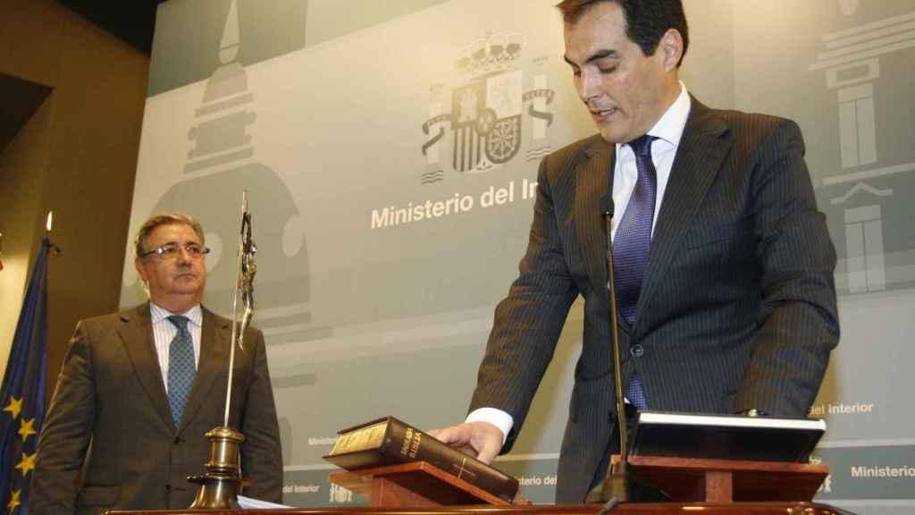 Toma de posesión del secretario de Estado de Seguridad, José Antonio Nieto.