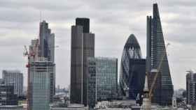 Vista general de la City de Londres.