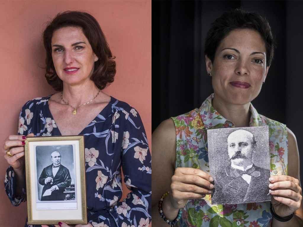 Cristina Ybarra, descendiente del empresario de origen vasco José María Ybarra y Almudena Bonaplata, descendiente del empresario catalán José Bonaplata.