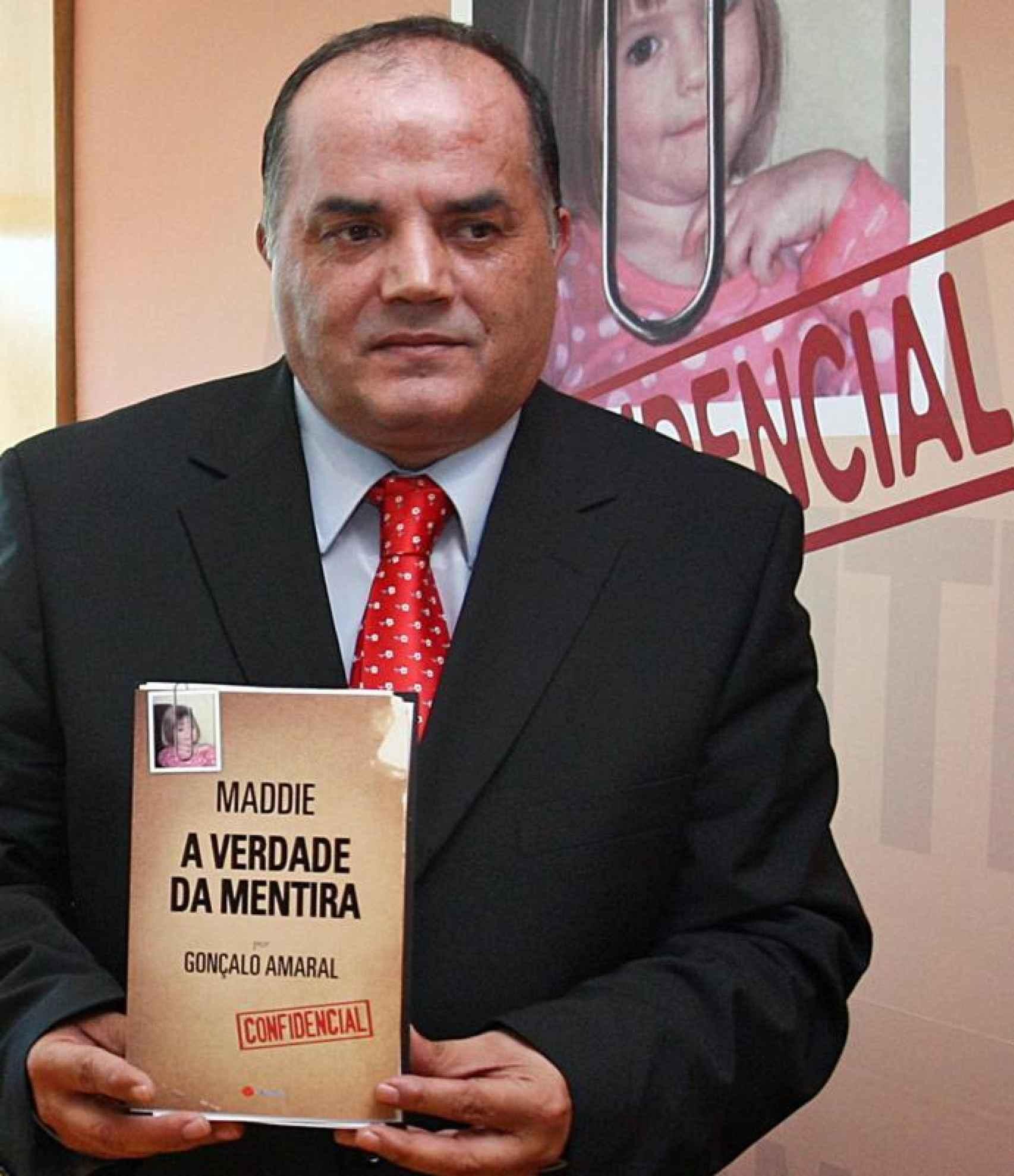 Gonçalo Amaral publicó el libro Maddie: la verdad de la mentira. Fue un superventas.