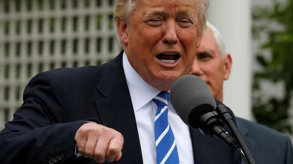 Trump no viajó durante sus primeros 100 días como presidente.