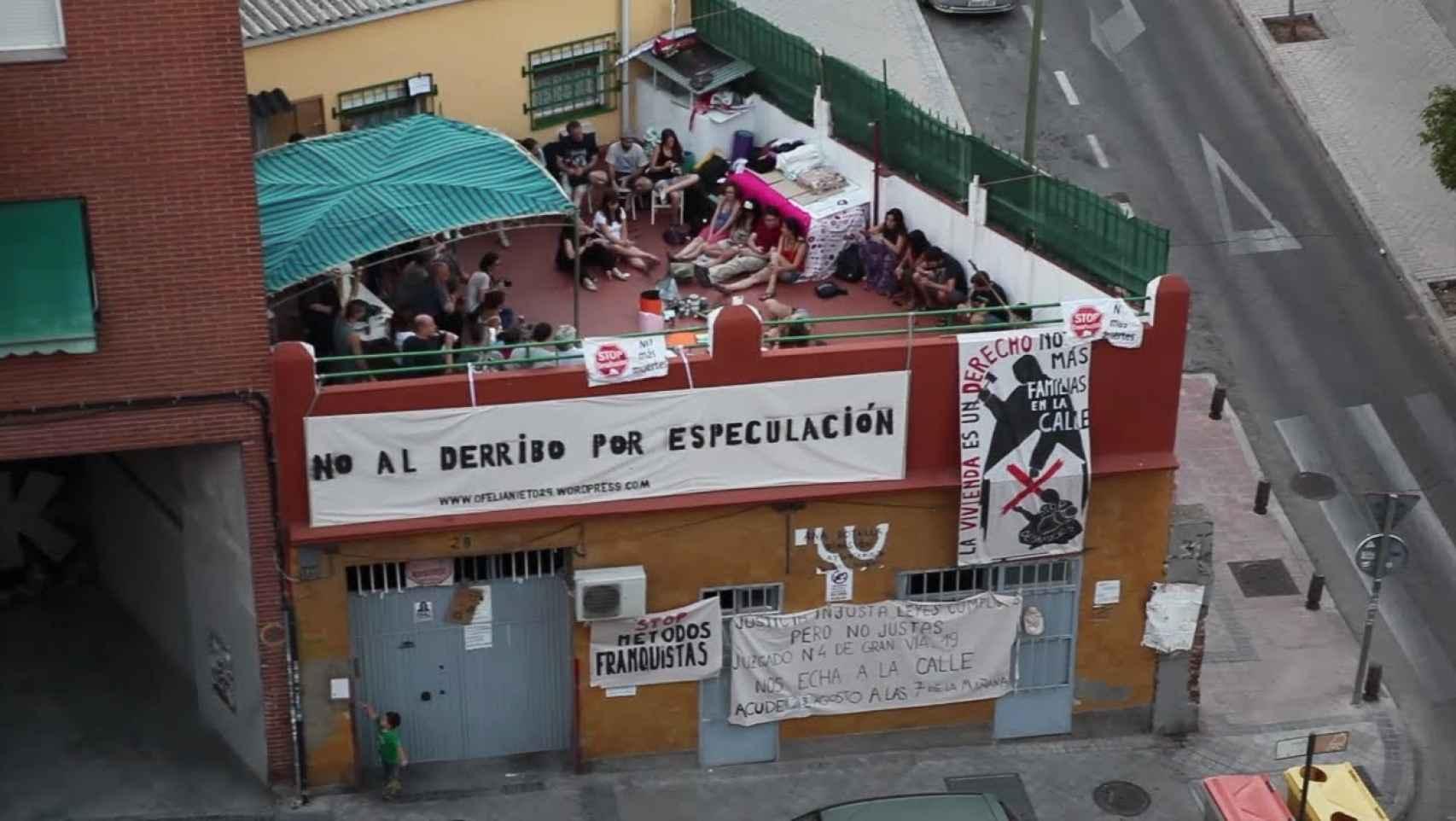 Uno de los capítulos está dedicado al desahucio de Ofelia Nieto, 29.