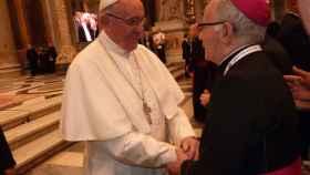 zamora papa francisco obispo