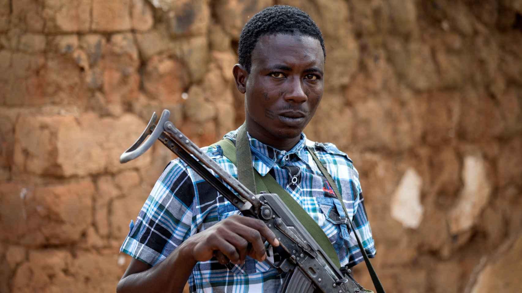 El drama de la guerra en el corazón de África