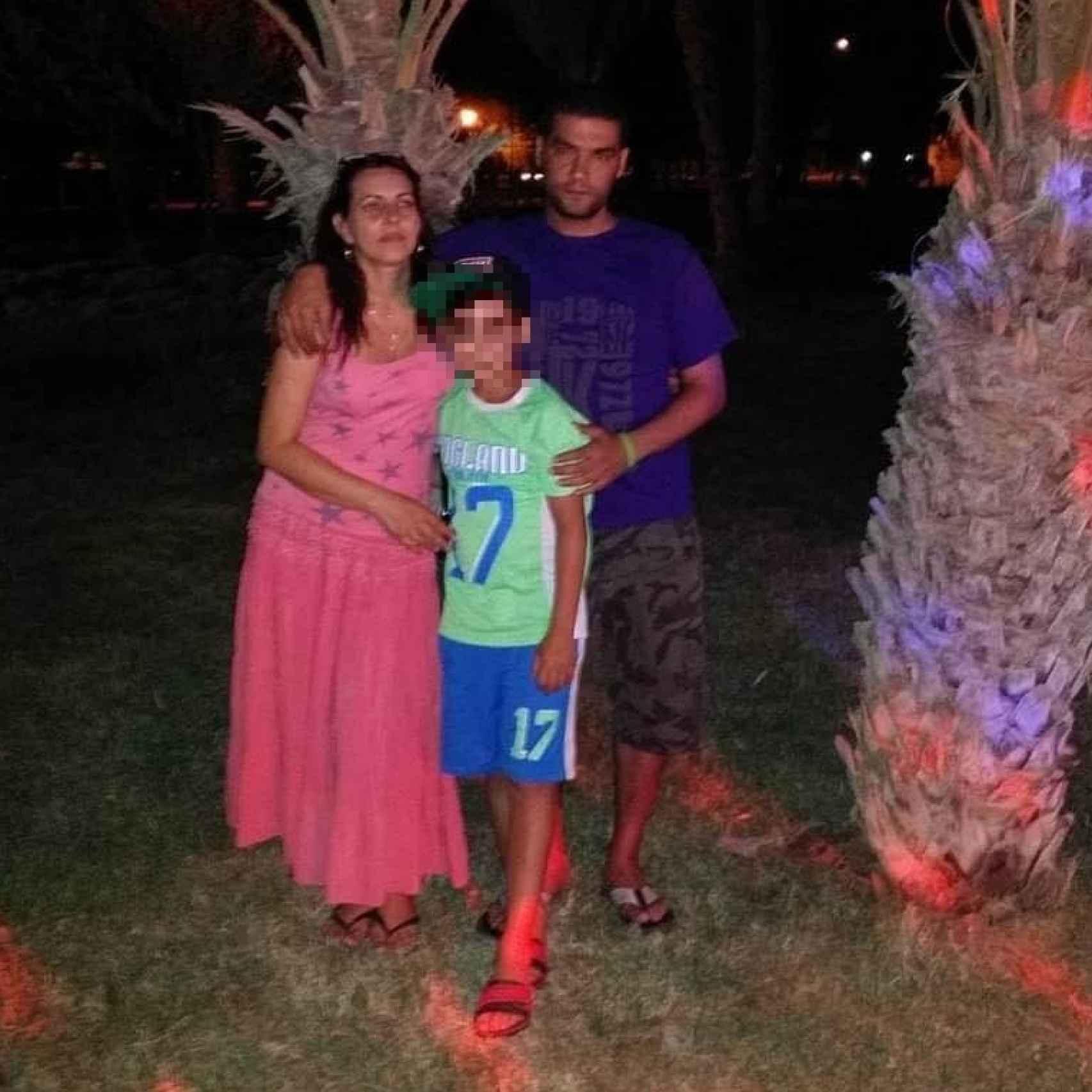 La familia al completo de vacaciones. No había denuncias previas por malos tratos ni órdenes de alejamiento