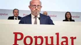 El presidente del Popular, Emilio Saracho.