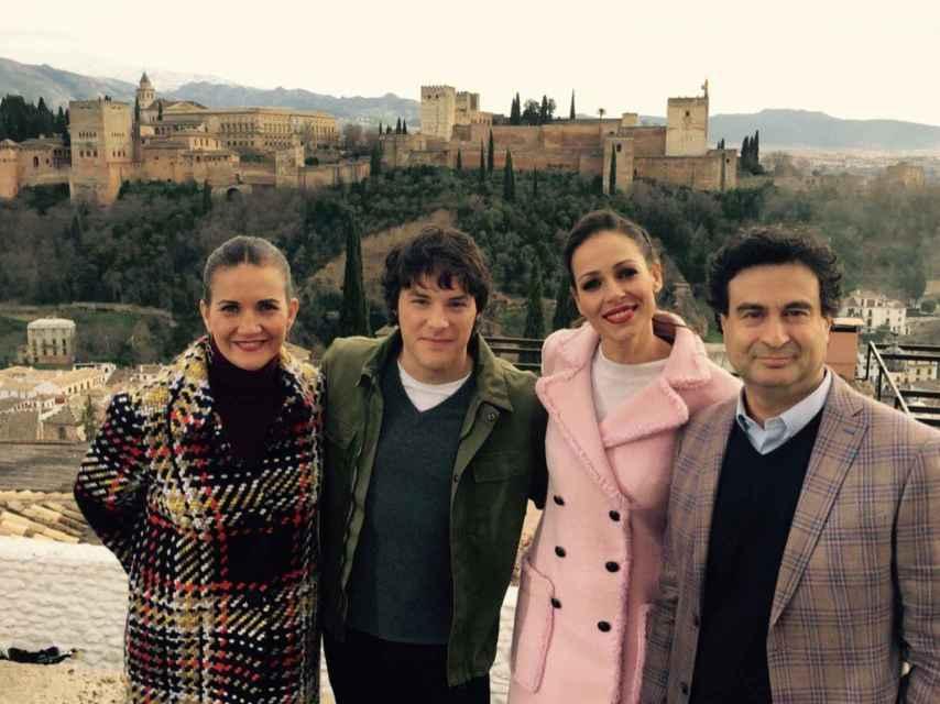 Samnatha Vallejo-Nágera, Jordi cruz, Eva González y Pepe Rodríguez.