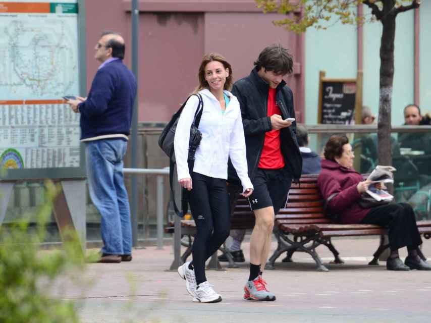Jordi Cruz y su pareja Cristina Jiménez.