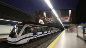 Uno de las estaciones de metro de Madrid.