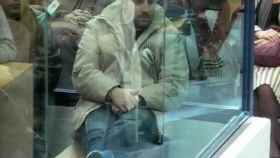 Suárez Trashorras, en una de las sesiones del juicio sobre los atentados del 11-M