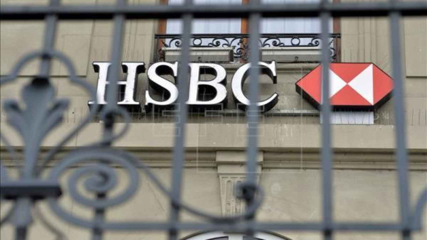 Sucursal del HSBC en Ginebra (Suiza).