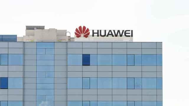 Oficina de Huawei en España.