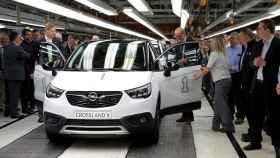 Arranca la producción Figueruelas del Opel Crossland X