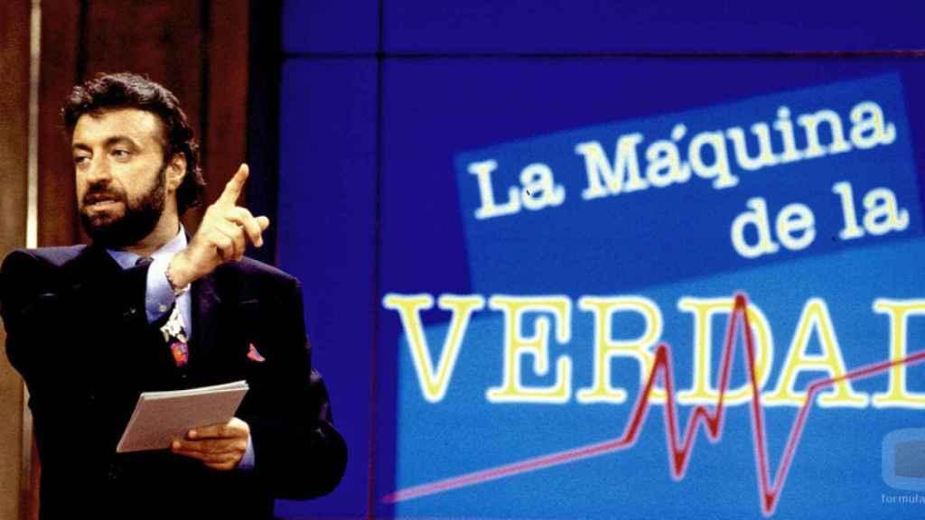La máquina de la verdad fue el programa que disparó la popularidad del periodista Julián Lago