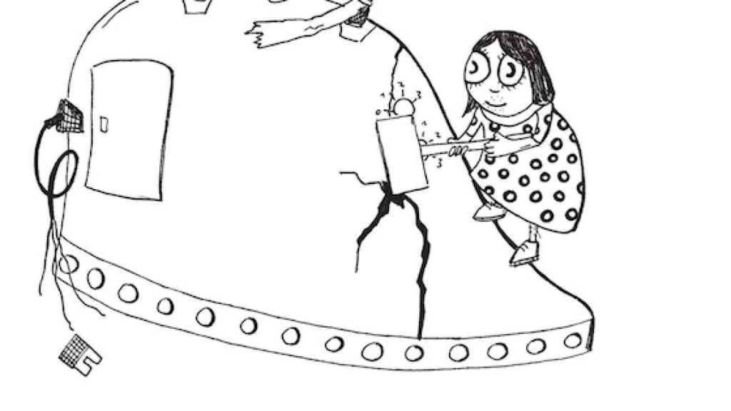 Detalle de una de las ilustraciones del libro de Adamczak.