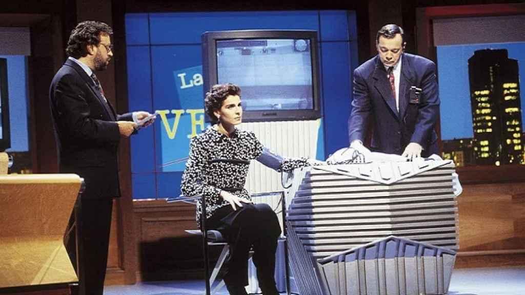 Los famosos, como Antonia Dell'Atte, se sometían a interrogatorios ante el detector de mentiras