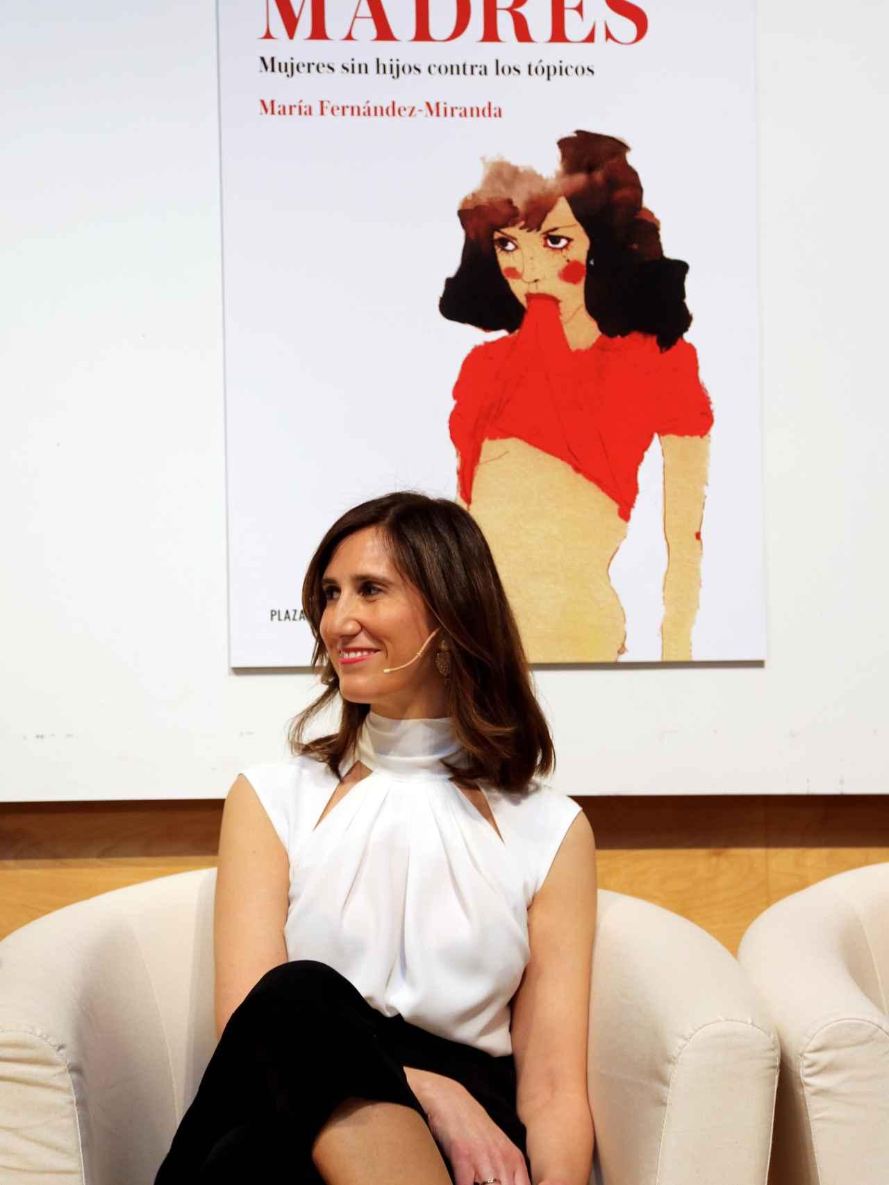 María Fernández-Miranda, en la presentación del libro No madres. Mujeres sin hijos contra los tópicos.