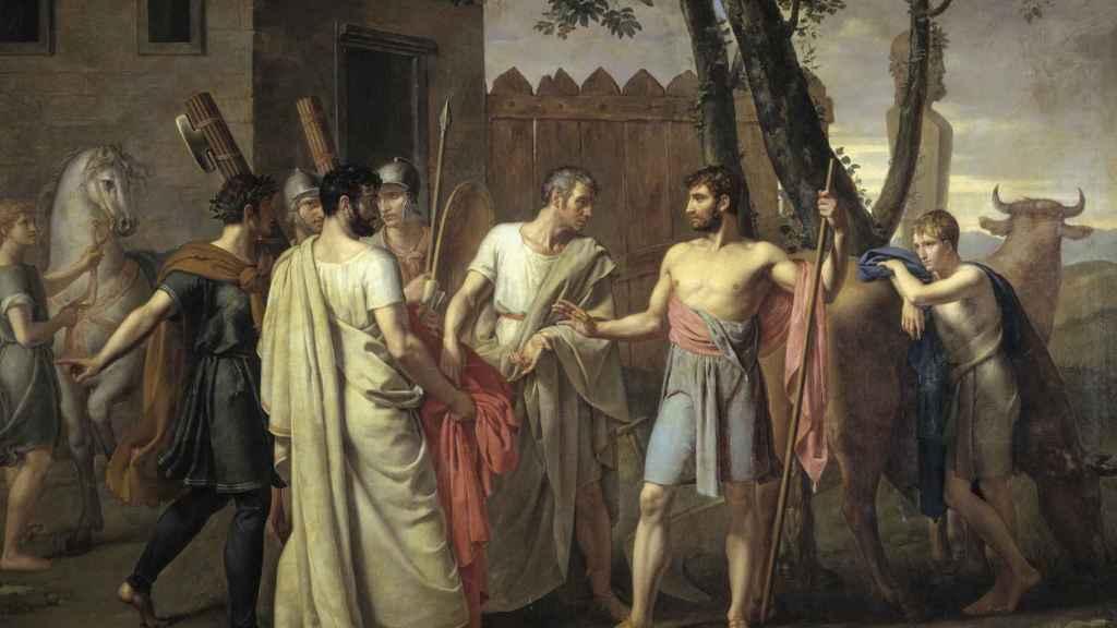 Cincinato abandona el arado - Ribera