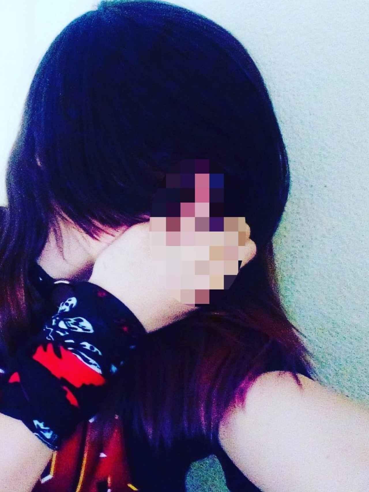 La niña de 13 años que ha agredido a su compañero.