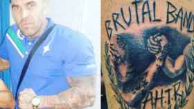 A.H.T.R. (Adolf Hitler Tenía Razón), el tatuaje que retrata al ultra del Betis que agredió en Bilbao