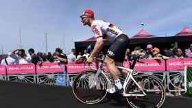 Greipel, durante una etapa del Giro de Italia.