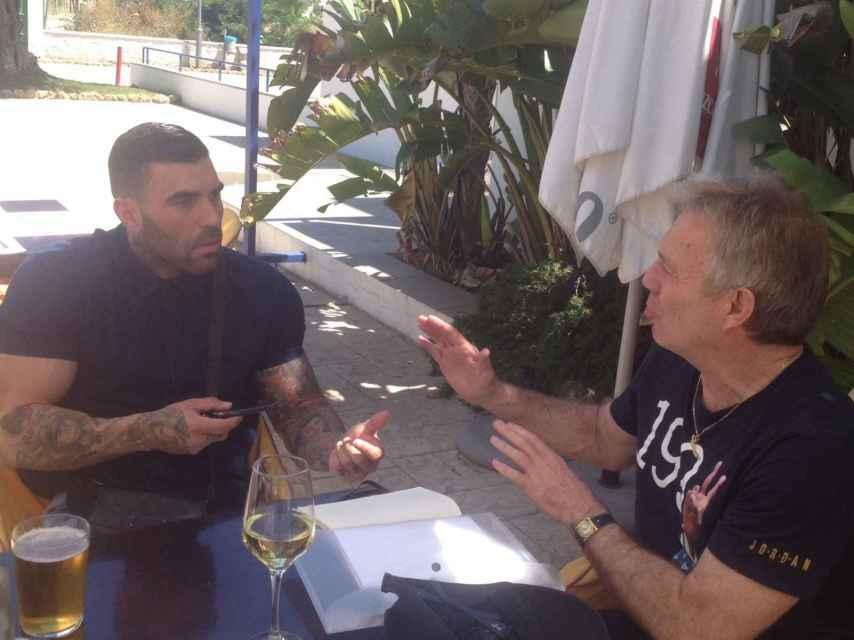 Manuel Herrera, durante la entrevista con EL ESPAÑOL.