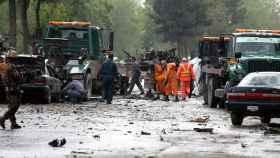 Imagen de un atentado en Kabul por parte del Estado Islámico.