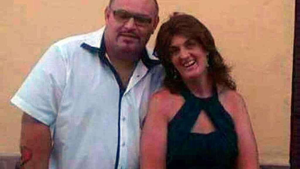 Rosario Luna junto a Antonio G.G., su pareja sentimental que acabó con su vida