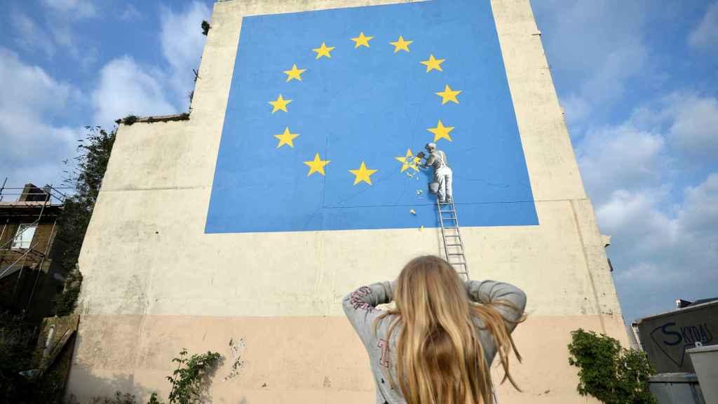 El nuevo mural de Banksy está en Dover