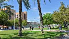 Campus de la Universidad Politécnica de Valencia.