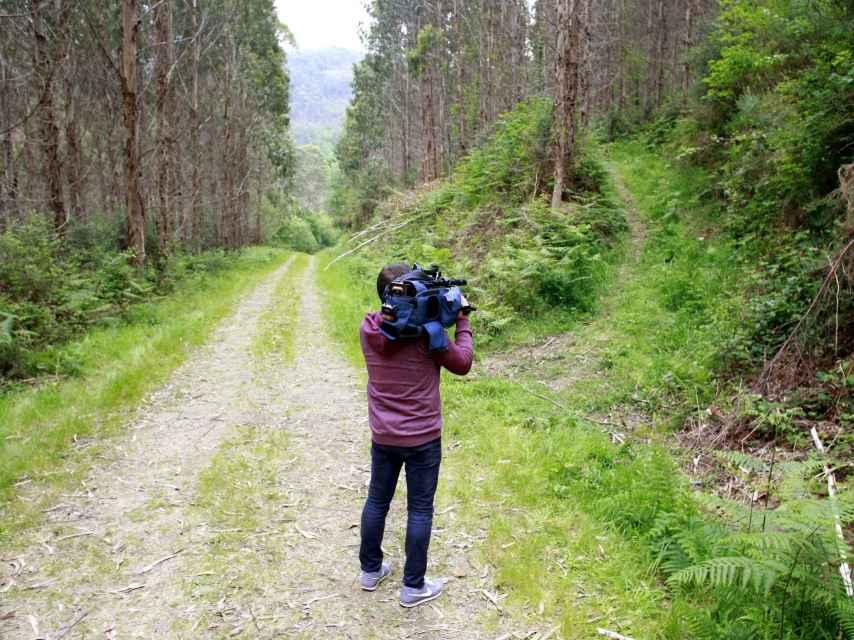 El camino en el que se encontró el niño es de difícil acceso. Solo se puede llegar por pistas forestales.
