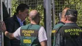 Ignacio González, el pasado 19 de abril, cuando fue detenido.