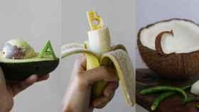 Abecedario de fruta y verdura