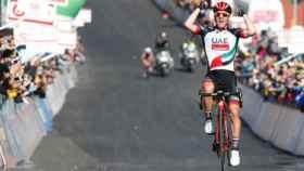 Polanc gana la cuarta etapa del Giro de Italia.