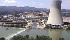 La central nuclear de Garoña.