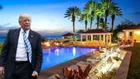 Donald Trump y su mansión de 37 millones de dólares en Florida.