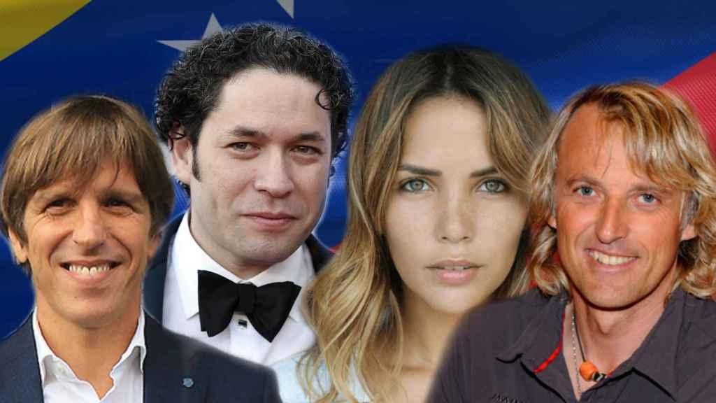El Cordobés, Gustavo Dudamel, Rosana Zanetti y Jesús Calleja, entre los que han alzado su voz contra Nicolás Maduro.