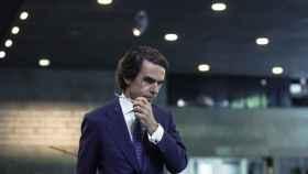 El ex presidente José María Aznar en la Fundación Rafael del Pino.